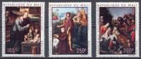 Mali Poste Aérienne YT N°110/112 Noel Tableaux Neuf ** - Mali (1959-...)