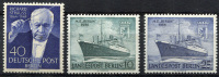 BERLIN 1954-55 - Mi.124 And 126-7 MNH (postfrisch) Perfrect (VF) - Nuovi