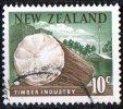 New Zealand 1967 10c Timber Used - New Zealand