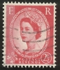 Gran Bretagna - 2 1/2 D. Used - N. Stanley Gibbons 614a Type II - N. Unificato 330Fa Tipo II Phosphor Bands A Sinistra - Gebraucht