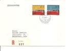 Réfugiés ( Lettre En Recommandé Premier Jour Du Liechtenstein De 1960 Vers La Suisse à Voir) - Rifugiati