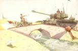 Humour  J. MAEZELLE - Militaire  Tank - Otros Ilustradores