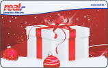 Germany - Allemagne - Real - Christmas - Xmas  - Carte Cadeau - Carta Regalo - Gift Card - Geschenkkarte - Frankreich