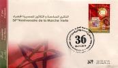 Maroc/Morocco - 2011 - FDC Luxe/VF - MA015.11: Env. 1er Jour - 36ème Anniversaire De La Marche Verte - Maroc (1956-...)