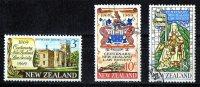 New Zealand 1969 Law Society Set Of 3 Used - New Zealand