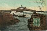 Bar Harbor Egg Rock Light Lighthouse Phare P. Used 1908 - United States