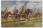 A Charge Of Grodno Hussards Armée Russe LVC  Phoscao Chocolate Written In Russian WWI - Belarus