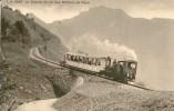ROCHERS DE NAYE > Le Chemin De Fer Des Rochers De Naye 1925 ++++ S/w Lichtdruck - VD Vaud