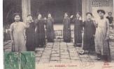 19655 Viet-nam Tonkin Chanteuses 3064 Dieulefils -timbre 5 Indochine Francaise -Pobel Felix Sandrin