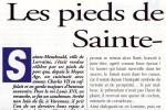 Article : LES PIEDS DE PORC A LA SAINTE-MENEHOULD   Maryvonne MIQUEL - Gastronomie