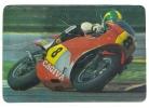 1988 Pocket Poche Bolsillo Calender Calandrier Calendario  Motorbikes Motorcycles Motos Cagiva - Calendars