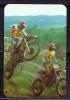 1988 Pocket Poche Bolsillo Calender Calandrier Calendario  Motorbikes Motorcycles Motos Motocross - Calendars