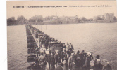 19672 NANTES  Ecroulement Pont PIRMIL 1924 Voitures Pietons Traversant Pont Bateaux -27 Nozais-