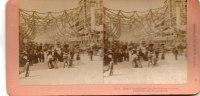 Photos Stéréoscopiques- PHOTO -James Street From The Marlborough House Diamond Jubilee London-année 1897 By B,W, Kilburn - Photos Stéréoscopiques