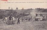 19684 GUERRE 1914 ARTILLERIE LOURDE FRANCAISE PIECE D155 TRACTEUR Automobile. A.R. 125