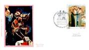"Israel Limited Issue Cacheted Special Cover, Music,art ""Lag Ba-Omer Klezmer Festival"" 1995 - Music"