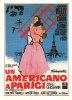 CINEMA CARTONCINO PUBBLICITARIO FILM - UN AMERICANO A PARIGI 1951DESCRIZ. SUL RETRO - Pubblicitari