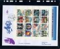 San Marino - Fdc Venetia 1998 - Un Secolo Di Fantascienza BF - FDC