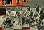 SPORT ILLUSTRATO 1952 CALCIO CICLISMO MAGNI COPPI 1000 MIGLIA BASKET E ALTRO - Sport