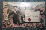 C.P. Circulée 1908 - Crois En Moi - Le Secret Du Timbre - Postal Services