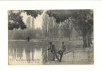 Cp, 75, Paris, Bois De Vincennes, Lac Des Pêcheurs, écrite - France