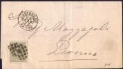 1877  Letter To Livorno Italy  NVPH  22 - Briefe U. Dokumente