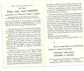 Doodsprentje         Martens  -Vrijdaghs  Zepperen  1899 -1964 Hoepertingen - Religione & Esoterismo