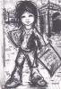19700 Enfant Paris, Poulbo, Vendeur Petit Journal Signé Papy ?  Spadem Collection Igor - Non Classés