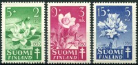 Finlande (1950) N 368 à 370 * (charniere) - Finlande