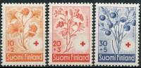 Finlande (1958) N 477 à 479 * (charniere) - Finlande