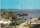 """19705 étang De Sigean , Coin Des Pecheurs Au Lieu Dit """"les Cabanes"""" - SL - Barque Pecheur Tampon Fontenailles - Sigean"""