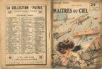 """Maîtres Du Ciel - Collection """"Patrie"""" De Henri D'Orcines -             (J1669) - Livres"""