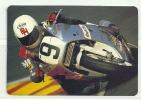 1991 Pocket Poche Bolsillo Calender Calandrier Calendario  Motorbikes Motorcycles Motos Races - Big : 1991-00