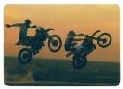 1993 Pocket Poche Bolsillo Calender Calandrier Calendario  Motorbikes Motorcycles Motos Motocross - Calendars
