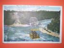 America 8,5x13,5cm Cascate Del Niagara Aero Cable Presenza Di Leggera Piega E Varie Macchie Come Da Foto - Cartoline