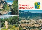 19721 Quillan ; Cim 3.cp.812402 Multivues Blason - France