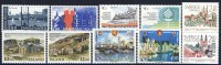 #A726. Iceland (Nordic Nations) 1986. Complete NORDEN-set. MNH(**) - Collections, Lots & Séries