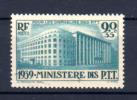œuvre Des Orphelins Des P.T.T., 424**, Cote 50 €, - Neufs