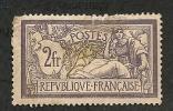 FRANCE  -   N° 122 -  Y & T -  O  - - 1900-27 Merson