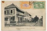 St Denis  La Gare Vue Interieure Edit Chardon No 5 Voyagé 2 Timbres - Saint Denis