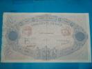 500 Frs Bleu Et Rose - Du 8 Aout 1917 - ( Date Rare )  TTB - 9 épinglages  - Plis - Coupes De 5 Ctm à Gauche Non Visible - 1871-1952 Anciens Francs Circulés Au XXème