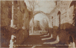 19736 Carte Photo ? 167 The Ruins, WINCHELSEA Grey Friars . L Wiseman Horner - Angleterre