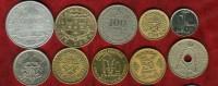 21 Pièces Du Monde - Münzen & Banknoten