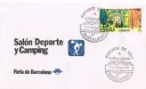 Carta Barcelona 1989, Esports De Neu A Catalunya. Feria Barcelona - 1931-Hoy: 2ª República - ... Juan Carlos I