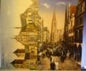 Münster :  Dom + Prinzipalmarkt Am Sonntag FELDPOST WWI 1914-1918  13e Inf Rgt 3 Komp 5 + 1e Ers Btl 3 Komp 5 - Muenster
