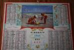 1964 Le Plus Bel âge à La Mer Sur La: Calendrier Almanach Des PTT : N° 57 Nomenclature Des Communes De Moselle Lorraine - Calendars