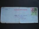 India 1931 Airmail Commercial Cover Lettre Brief Karachi To England K P Tengra & Co Via Karachi-Bombay Air Service - Inde (...-1947)