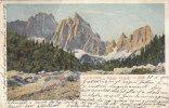 D71- Valle Di Cadore - Cadore - Monte Cristallo - F.p. Vg. 1902 - Belluno