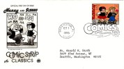 #3000o 32-cent Comic Strips, Nancy, Boca Raton FL 1 October 1995 ,First Day Cancel Postmark - First Day Covers (FDCs)