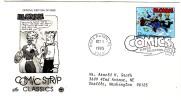 #3000l 32-cent Comic Strips, Blondie Dagwood, Boca Raton FL 1 October 1995 ,First Day Cancel Postmark - 1991-2000
